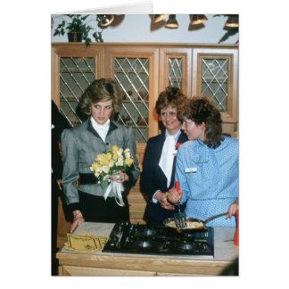 No.93 princesa Diana Londres 1985 Tarjeta De Felicitación