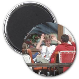 No.94 Princess Diana Austria 1991 Magnet