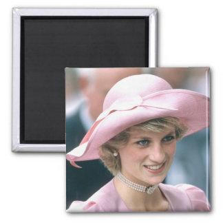 No.97 Princess Diana Tetbury 1985 2 Inch Square Magnet