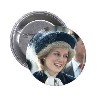 No.98 princesa Diana Wantage 1983 Pin Redondo De 2 Pulgadas