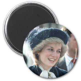 No.98 Princess Diana Wantage 1983 2 Inch Round Magnet