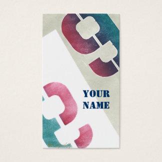 No. 99 Graphic Business Cards from Original Art