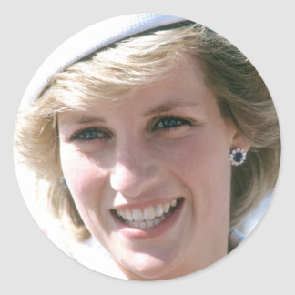 No.99 Princess Diana Isle of Wight Classic Round Sticker