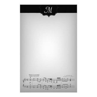 No. 9 de la sinfonía de Beethoven Papelería