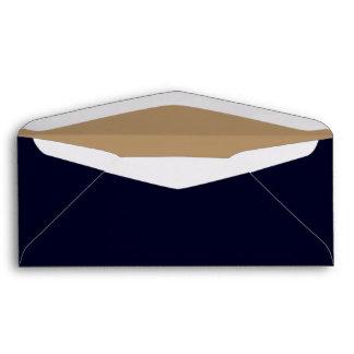 No. 9 Envelope Dark Blue/Gold