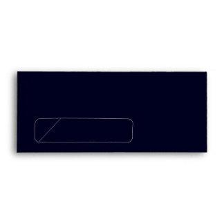 No. 9 Envelope dark blue with window