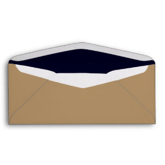 No. 9 Envelope Gold/ Dark Blue