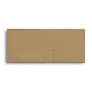 No. 9 Envelope Gold with window