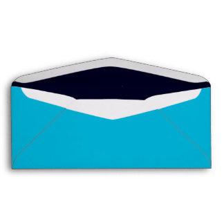 No. 9 Envelope turquoise-dark blue