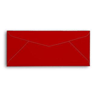 No. 9 Envelope uni red