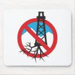 No a Fracking Tapete De Ratones