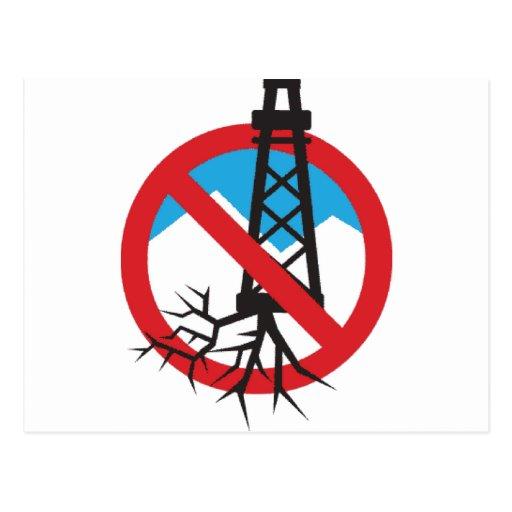 No a Fracking Tarjetas Postales
