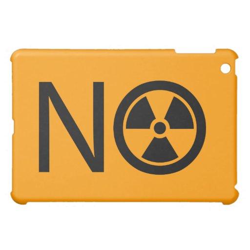 No a la radiación y a la energía atómica