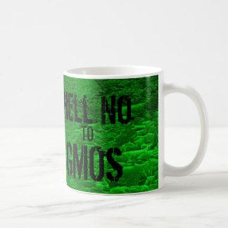 No a la taza de café de los GMOs