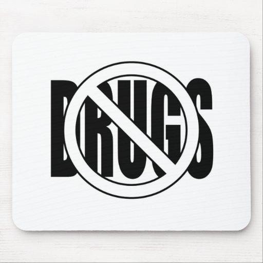 No a las drogas tapete de raton