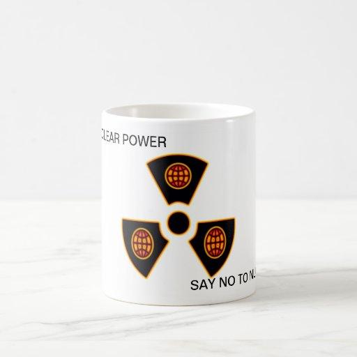 """""""No a nuclear """" * Taza De Café"""