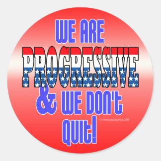 No abandonamos a los pegatinas progresivos