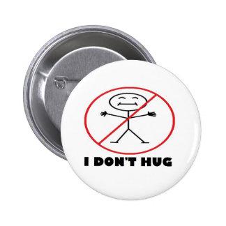No abrazo pin redondo de 2 pulgadas
