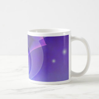 no. abstracto 2 de la púrpura creado por Tutti Taza De Café