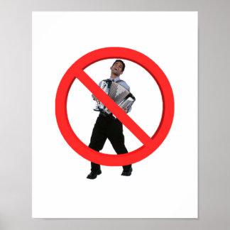 No Accordions Print