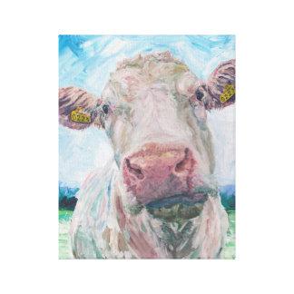 No acobarde ninguna vaca irlandesa de 04. 0223 Cha Impresion En Lona