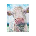 No acobarde ninguna vaca irlandesa de 04. 0223 Cha Impresión En Lona