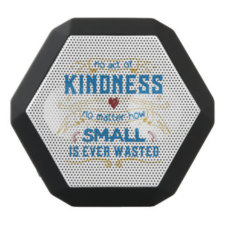 No Act of Kindness Black Bluetooth Speaker