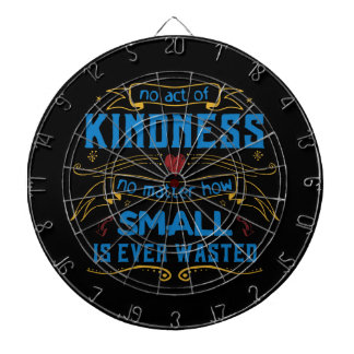 No Act of Kindness Dartboard With Darts