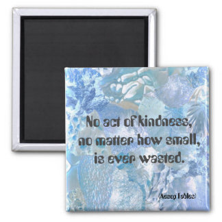 No act of kindness refrigerator magnet