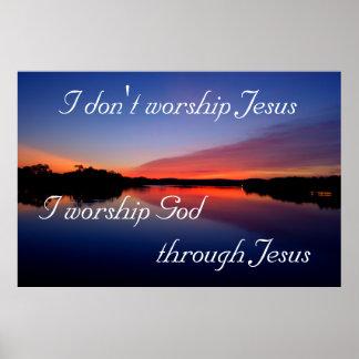 No adoro a Jesús Impresiones