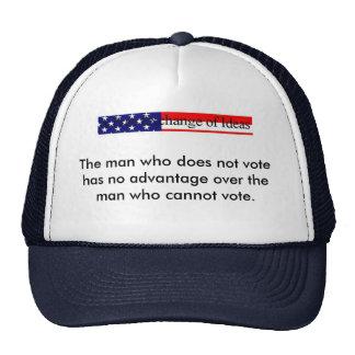 No Advantage hat