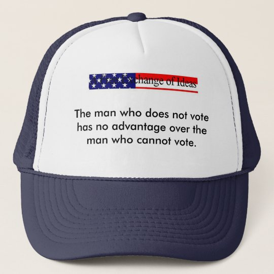 No Advantage (hat) Trucker Hat
