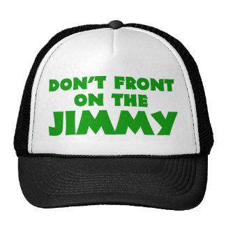 No afronte en el Jimmy Gorros Bordados