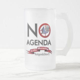 No Agenda Party Mug