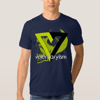 No-Agresión de Voluntaryist Playera