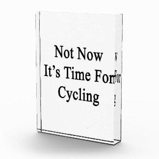 No ahora es hora para completar un ciclo