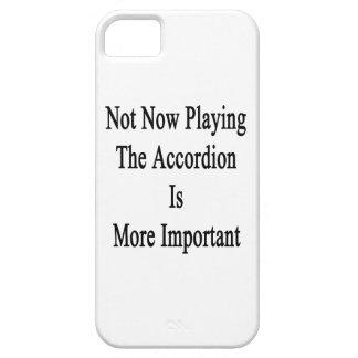 No ahora jugar el acordeón es más importante iPhone 5 funda
