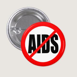 """""""NO AIDS"""" BUTTON"""