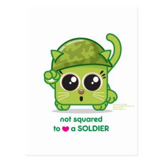 No ajustado PARA AMAR a un soldado Postal