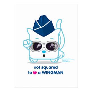 No ajustado PARA AMAR a un Wingman Postal