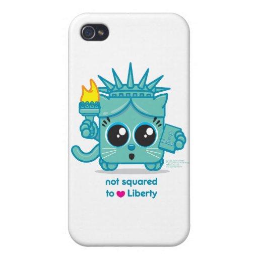 No ajustado PARA AMAR libertad iPhone 4/4S Carcasas