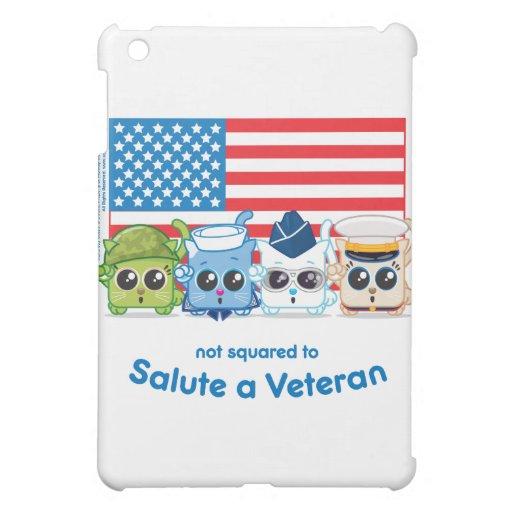 No ajustado para saludar a un veterano