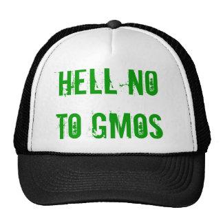No al gorra de los GMOs
