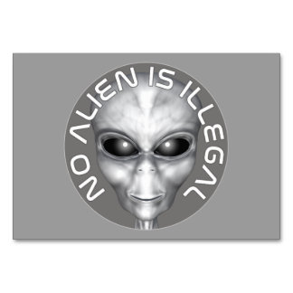 No Alien Is Illegal Card