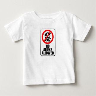 No Aliens Allowed Infant T-shirt