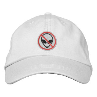 No Aliens Personalized Adjustable Hat