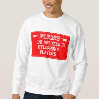 No alimente a los jugadores del xilófono jersey