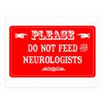 No alimente a los neurólogos postales