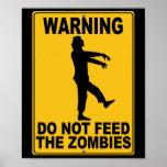 No alimente a los zombis impresiones