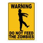No alimente a los zombis postal